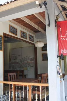 Lada Warung- Lada is cleaner, posher and more expensive than a traditional warung, but this makes it an ideal place for newcomers to Indonesia to dip their toes into the deep pool of Indonesian food. (Travelfish)