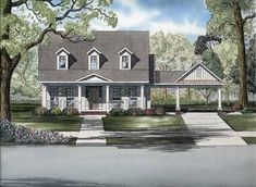 house plan 110 00690 country plan 2286 square feet 4 bedrooms 3 bathrooms - House Plans Drive Through Carport