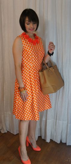 {orange all over} @J.Crew @kate spade new york @Tory Burch