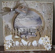 Pouwla's freubels: gorgeous Christmas scene