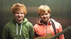 Both my favorite gingers :) 22 Reasons Why We Love Ed Sheeran