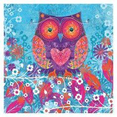 'Owl Heart' by Diamond Decor