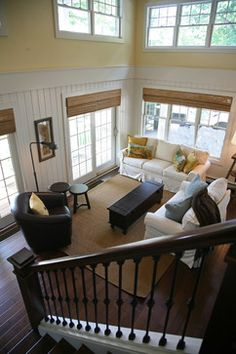 lakeside guest house - traditional - living room - milwaukee - Interior Changes home design service