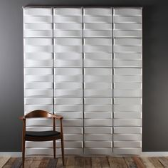 Stitch Hanging Wall Flat System - 3D Wall Panels by Inhabit