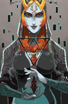 Midna, The Legend of Zelda: Twilight Princess artwork by Alexis Parade.