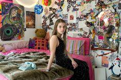Rania Matar. Girl and her room