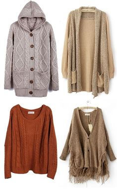 Womens Off the Shoulder Chunky Knit Jumper Ladies Oversized Baggy ...
