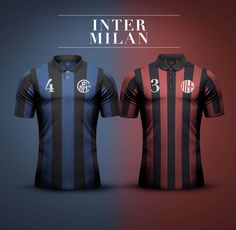 Derby della Madonnina Concept Kits by Emilio Sansolini | #Inter x #Milan
