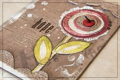 Hybrid Mixed Media Canvas for Captivated Visions at Scrapbookgraphics.  My Wish For You | The Signature Collection