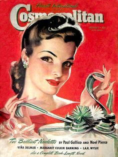 Cosmopolitan, January 1941 (Cover artwork by Bradshaw Crandell)
