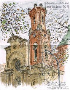barcelona's sketchcrawl