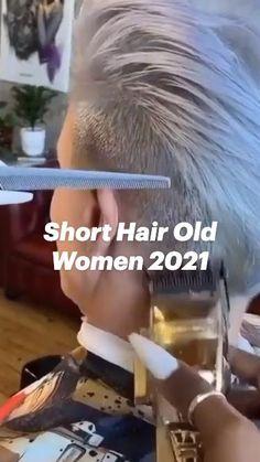 Short Silver Hair, Funky Short Hair, Super Short Hair, Short Grey Hair, Short Hair Older Women, Short Hair With Layers, Short Hair Styles, Pixie Styles, Short Sassy Haircuts