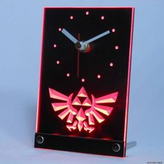 Overall size of the clock is 5.6 x 3.75 inch/ 142.5mm x 95 All detail on the surface is engraved by the latest 3D engraving technology (not laser engraving which only provides 2D effect) The LED light