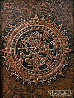 Victor Bono Coppersmith Mastering His Craft Mayan Art Tatuagem Azteca, Maya Art, Aztec Symbols, Mayan Symbols, Viking Symbols, Egyptian Symbols, Viking Runes, Ancient Symbols, Mayan Tattoos