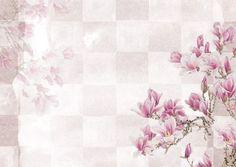 Pink Floral on Checkerboard Pattern Notebook Custom Napkins, Checkerboard Pattern, Flower Backdrop, Blossom Flower, Background Patterns, Floral Watercolor, Vintage Designs, Pretty In Pink, Jars