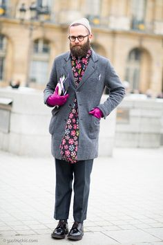 Gastro Chic: Pink + Grey man