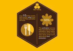 Bee Friendly- Bee Conservation Campaign by Jamie Gallagher, via Behance