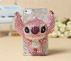 3D Bling crystal Case for iPhone 4