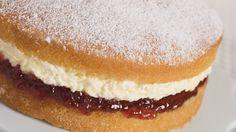 Pamela Blacks' Victoria Sponge with Raspberry Jam and Cream ( adapted ...