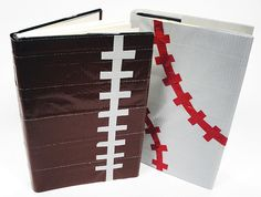 Need book covers for school books? Use duct tape and make your own design. #duct #tape #crafts #bookcovers