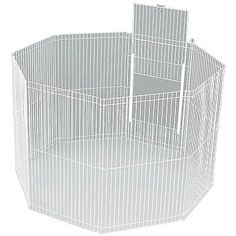 Cages and Enclosure 63108: Ware Manufacturing Large Canvas 8-Panel Clean Living Small Pet Playpen Cage W... BUY IT NOW ONLY: $48.56