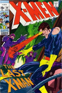 X-men 59 - Neal Adams cover