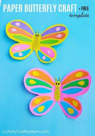 Check out 20 Best Butterfly Crafts for Kids perfect for Spring. Crafts and activities about butterflies for early childhood education classrooms. Paper Butterfly Crafts, Paper Butterflies, Spring Crafts For Kids, Art For Kids, Glue Crafts, Paper Crafts, Kid Crafts, Cupcake Liner Crafts, Turtle Crafts