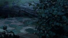 Animation Backgrounds: more from THE PRINCESS AND THE FROG