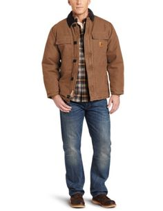 8605e206a623  139.99 Only   Original Carhartt Men s Big   Tall Arctic-Quilt Lined  Sandstone Duck Traditional Coat C26