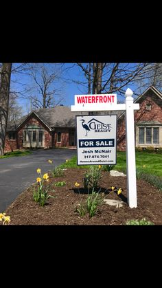 New waterfront listing in Feather Cove I at Geist 317-874-7041 for a private showing #GeistRealty www.HomesAroundGeist.com #GeistReservoir