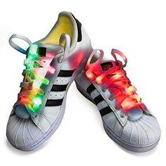 Oferta: 7.59€. Comprar Ofertas de Cordones LED, CrazyFire 3 Modos Parpadeo Multicolor LED Cordón de Zapato, Bateria Cargada Nylon Seguridad&Cool Correa Para Za barato. ¡Mira las ofertas!