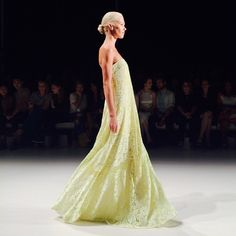 Love this lace gown from Erin Fetherson.