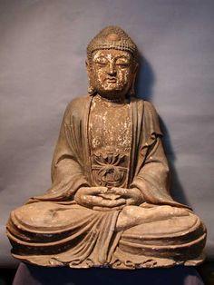 Wooden Sculpture of the Vairocana Buddha