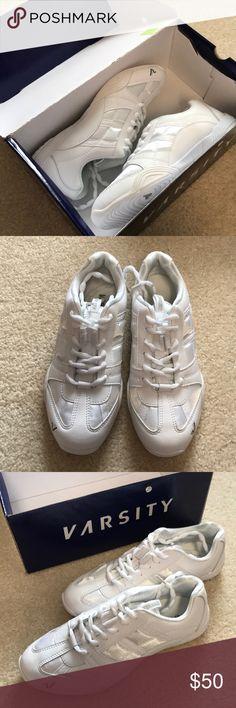 Nike Sideline III Insert Cheerleading Athletic Shoes Women's Size 7 White