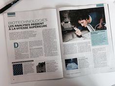"""""""RT PCup_ESPCI: [Presse] La #microfluidique à l'honneur dans le dernier numéro d'IT_technologies avec ipggmicrofluid &"""