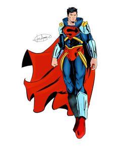 """Gurumendy on Instagram: """"Andaba con unas ganas tremendas de dibujar a #superboyprime y bueno aquí está espero que les guste #superboyprime #superman…"""" Superboy Prime, Donald Duck, Superman, Disney Characters, Fictional Characters, Instagram, Art, Cattle, Draw"""