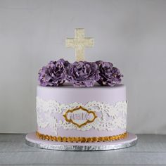First Communion Cake | Lil Miss Cakes