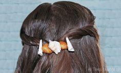 Check out my tousled, beachy hairstyle + DIY seashell hair accessories with John Frieda® Beach Blonde™ Sea Waves™ Sea Salt Spray! on All Things Beautiful XO | www.allthingsbeautifulxo.com