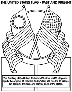 Flag Day coloring pages FREE - US Flag coloring sheets, pictures and ...