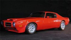 This is an absolutely stunning Pro-Touring 455 Trans AM G-Hawk. It was featured on Horse Power TV& Muscle Car Show. This car is a complete frame-off restora. Firebird Formula, Pontiac Firebird Trans Am, Pontiac Cars, American Muscle Cars, American Sports, Us Cars, General Motors, Cars And Motorcycles, Touring