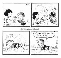 First Appearance: August 1965 Peanuts Cartoon, Peanuts Snoopy, Peanuts Comics, Lucy Van Pelt, Snoopy Love, Snoopy And Woodstock, Snoopy Comics, Charlie Brown And Snoopy, Calvin And Hobbes