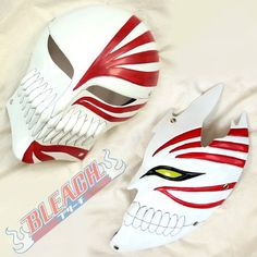 Additions to my Comic Con cosplay  Bleach Cosplay Props Ichigo Kurosaki Bankai Hollow Mask 2 in 1 set