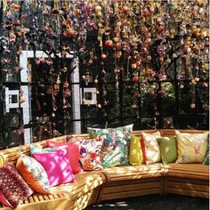 Sun dapples. Matthew Williamson's secret garden at Blakes Hotel. Click to see more of our favourite photographs.