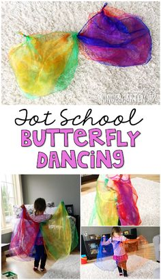 Tot School: Butterflies Dancing like a butterfly is a perfect gross motor activity for a butterfly theme in tot school preschool or the kindergarten classroom. The post Tot School: Butterflies appeared first on Toddlers Ideas. Insect Activities, Gross Motor Activities, Spring Activities, Preschool Activities, Daily Activities, Infant Lesson Plans, Lesson Plans For Toddlers, Toddlers And Preschoolers, Toddler Classroom