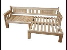 - Bettkombination Mit Sofastuhl – Wooden Sofa Chair (Code: -Bettkombination Mit Sofastuhl- D -