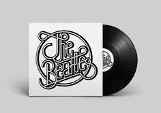 The Beatles lettering tribute by Sergi Delgado