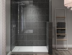 JACUZZI® SHOWERS From A Corner Shower Base To Bases With Integral Seats,  Jacuzzi®