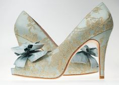 The Marie Antoinette by RoyalCoutureShoes on Etsy, $635.00