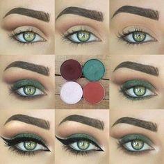 comment maquiller les yeux verts, quels sont les sous-tons pour vos yeux verts