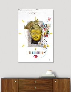 Discover «Buddha», Limited Edition Acrylic Glass Print by Ulug Doschan - From $75 - Curioos